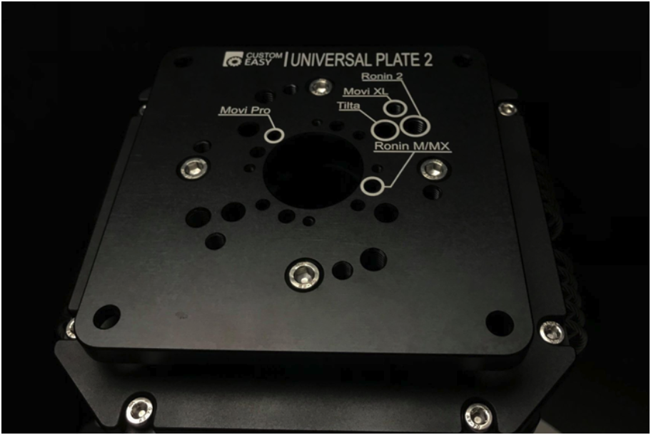 Vibration Isolator supported gimbals