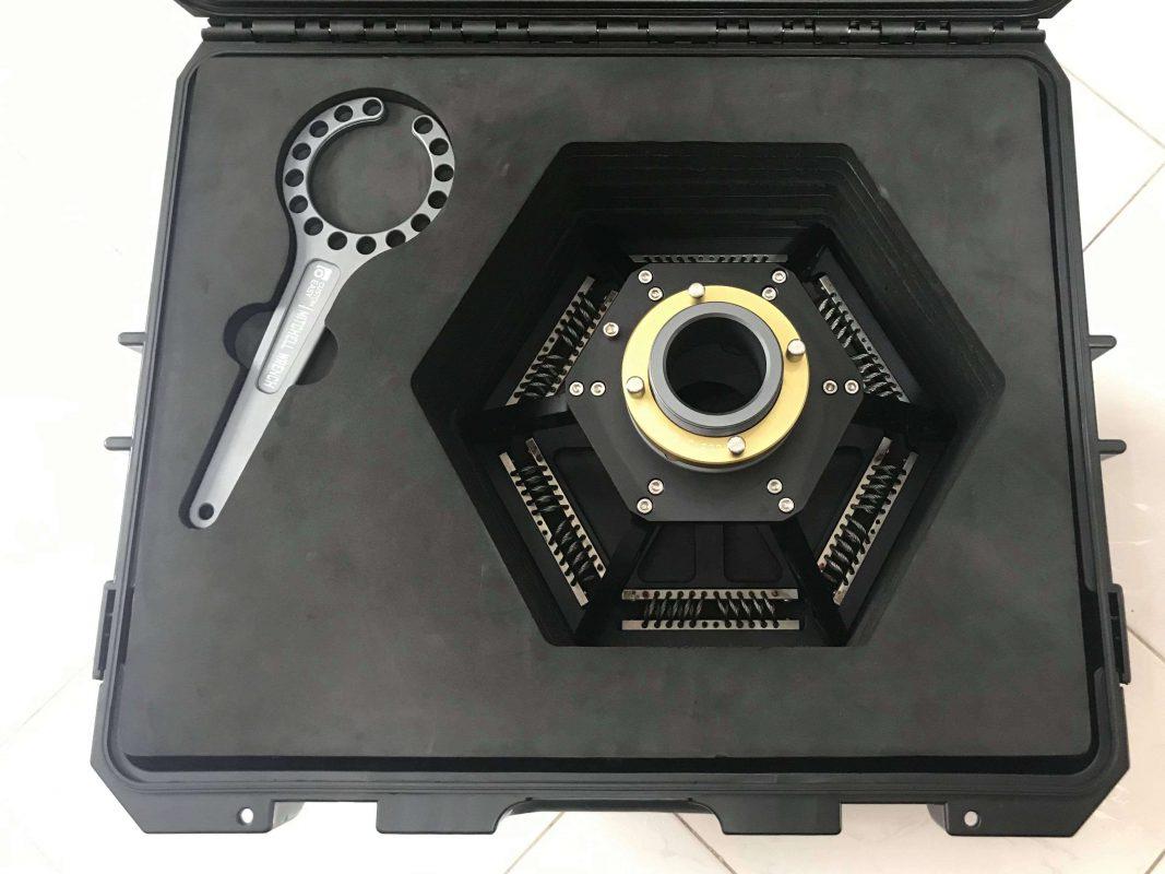 XYZ Vibration Isolator with travel case