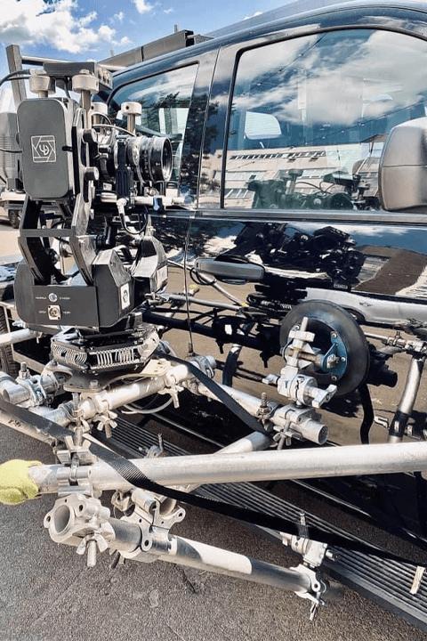 Vibration Isolator, Opertec Millihead camera gimbal