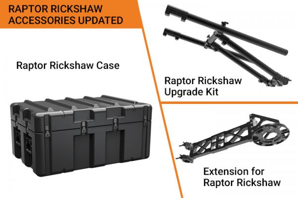 Raptor Rickshaw Accessories Updated List