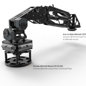 Raptor Z Pro with Arm to Male Mitchell and Female Mitchell Mount