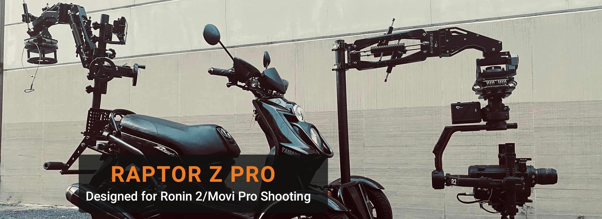 Raptor Z Pro Website Banner